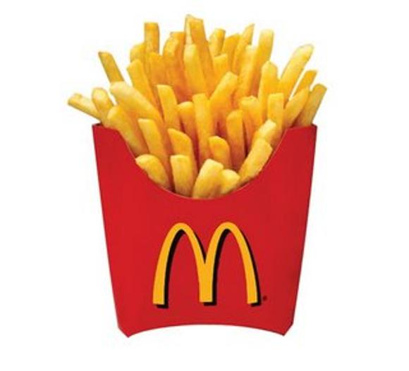 Pinky Craft: Mcdonald French Fries