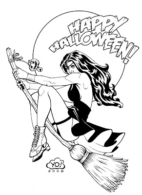 halloween coloring pages: Happy Halloween Coloring Pages