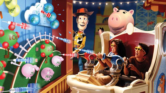 Toy Story Mania De Disney World A Tu Wii