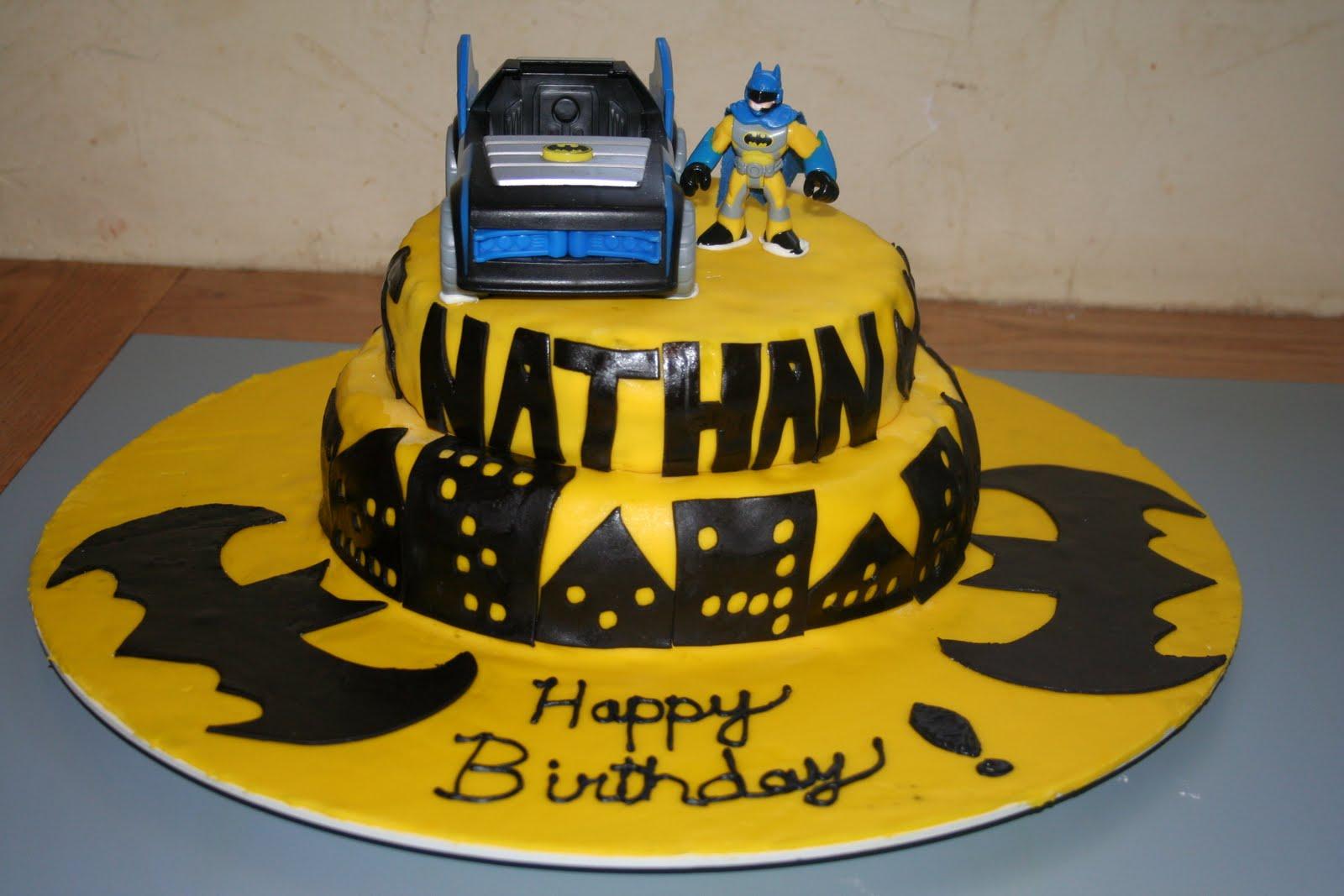 Kakie S Cakes Batman Birthday Cake