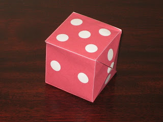 Victoria Norman Home Popup Rubber Band Cube Dice