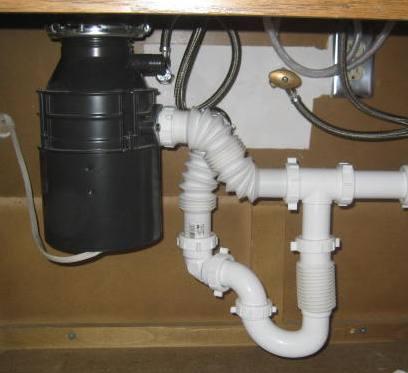 Need Help To Un Plug Garbage Disposal Drain Sink
