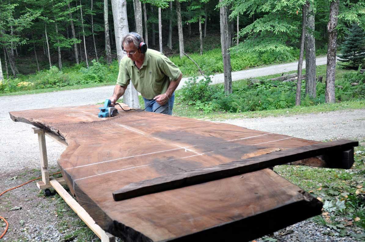 rough wood furniture