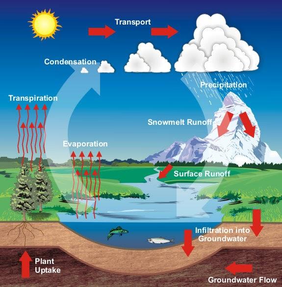 Kitar Hidrologi Dan Proses Proses Yang Terlibat Hubungan Air Dengan Manusia
