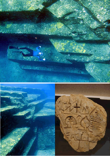 8000-year-old Yonaguni-Jima (Japan)