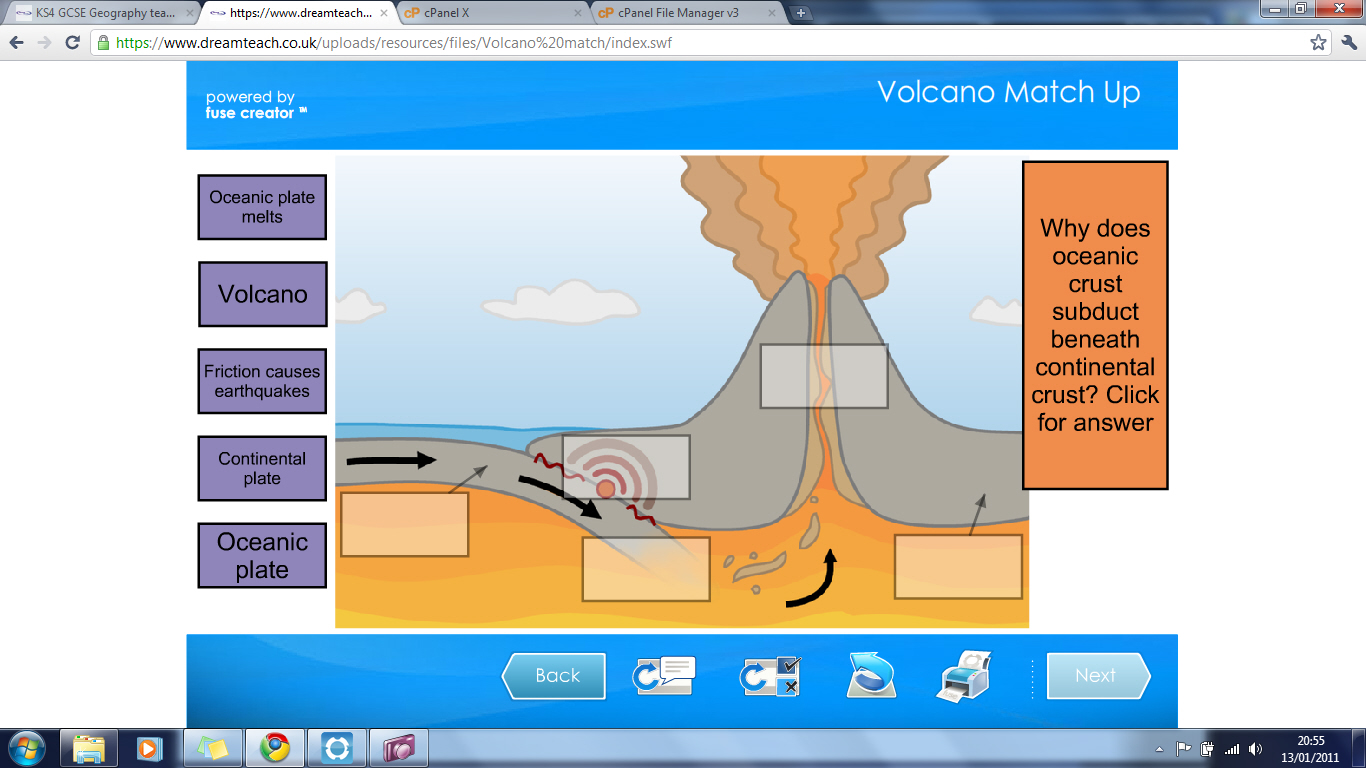 Latest News New Ks4 Volcano Match Up Game Added