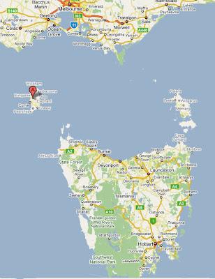 Map Of Australia King Island.Samtingbilongmi Rediscovering Tasmania King Island 2