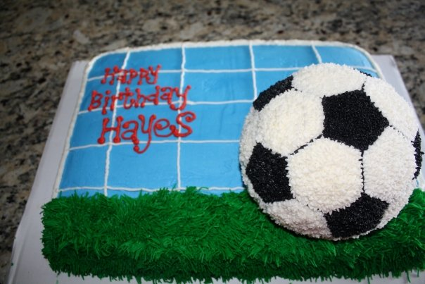 TumiTicklers Soccer Ball Birthday Cake