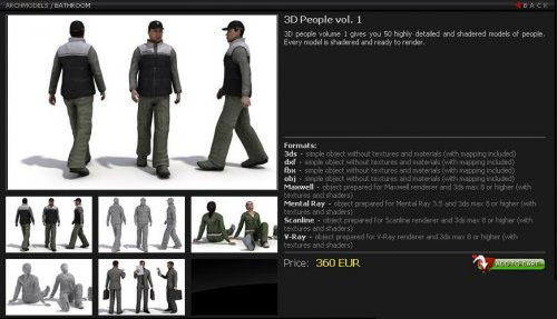 Evermotion 3d people vol 2 free download