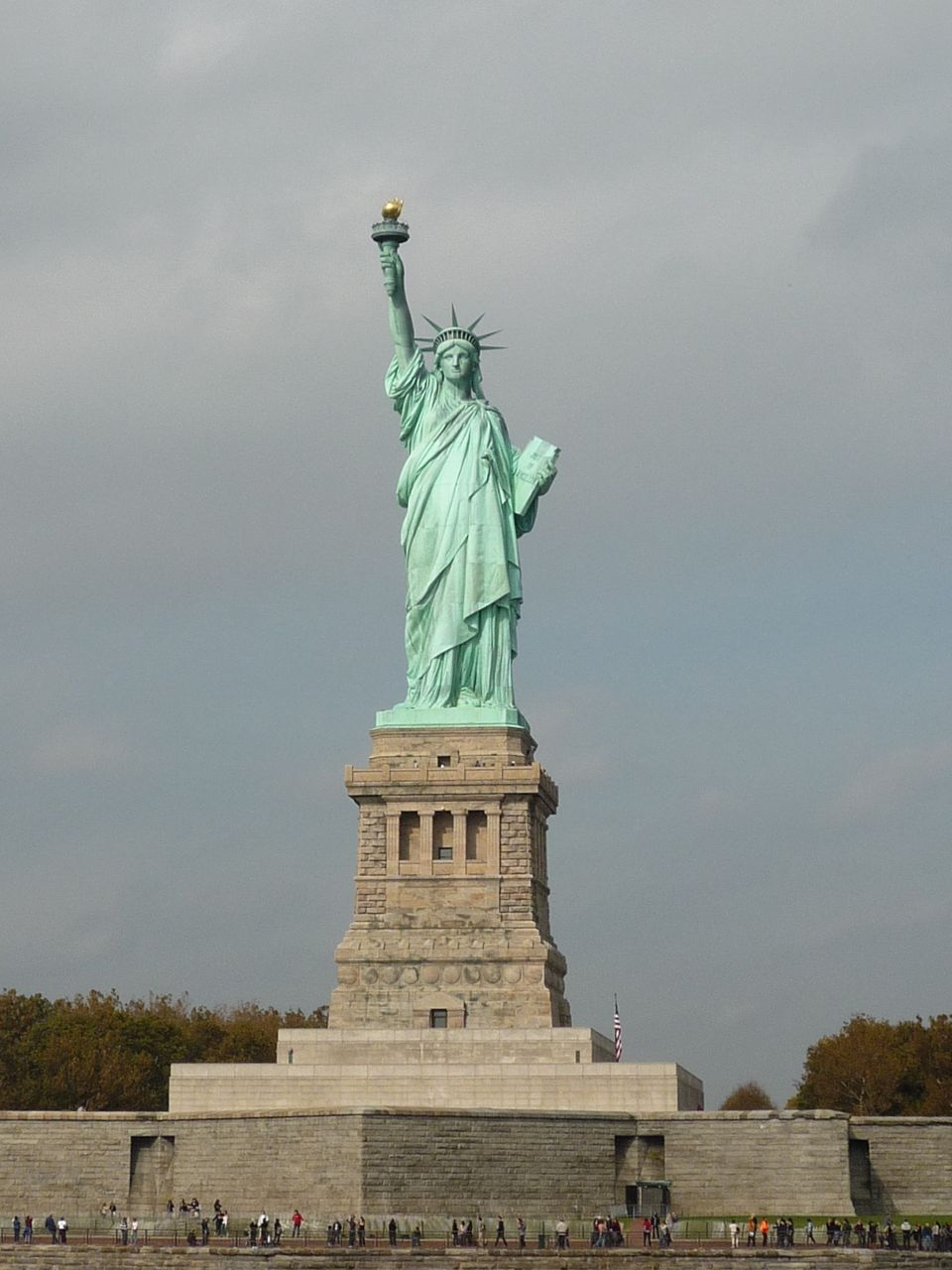 short note on statue of liberty