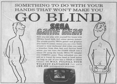 Sega game gear ad