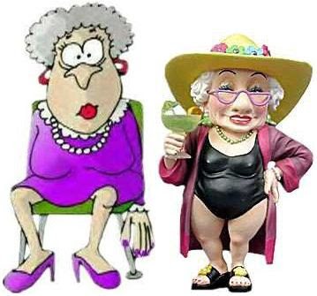 2 old ladies