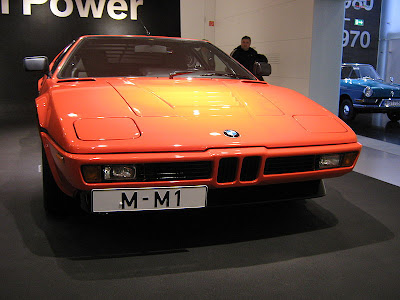 BMW M1 - click here for a larger picture