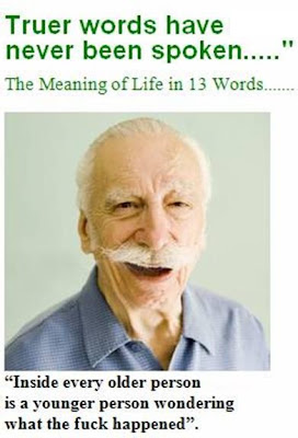 THE MEANING OF LIFE.... in 13 words...