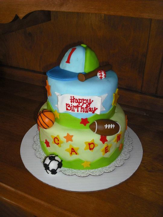 Sprinklebelle Cakes Sports Cake