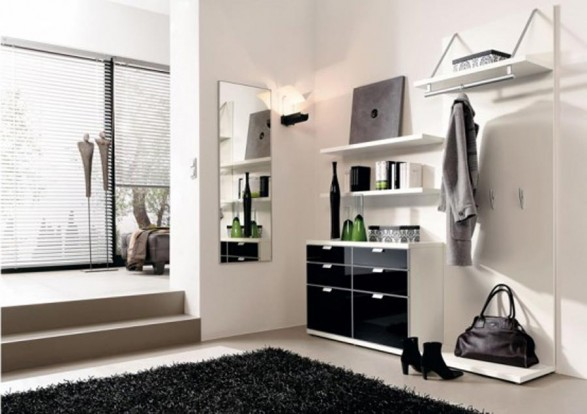 modern house hall way design furniture by hulsta designs