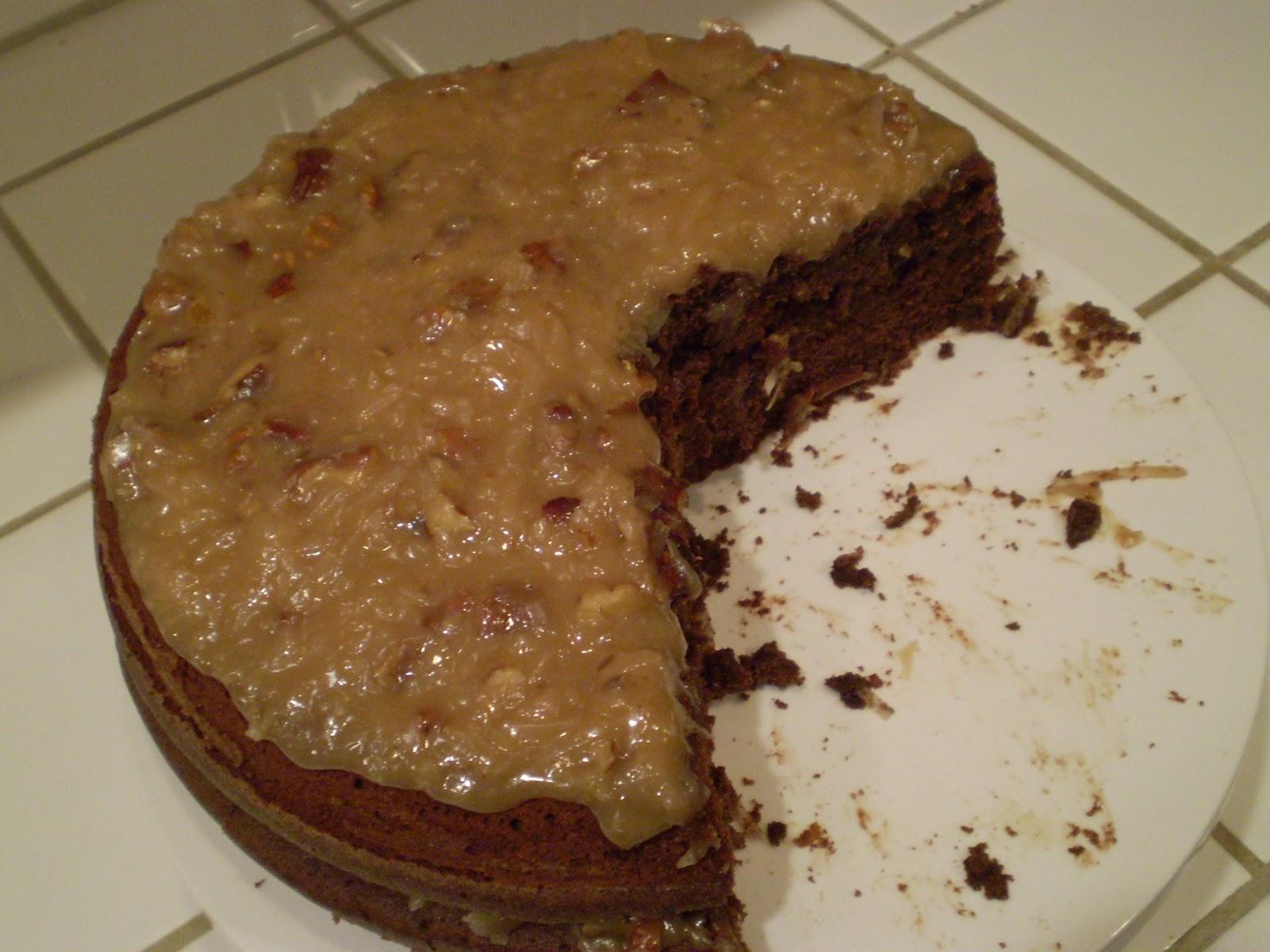 German Chocolate Cake Recipe Joy Of Baking: The Domestic Engineer: German Chocolate Cake