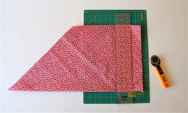 "Half Yard Red Orange 5/"" Wide Double Fold Stretch Knit Edging Trim By Yard"