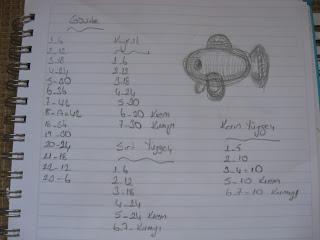Ravelry: Amigurumi Yeşil Balık Anahtarlık Yapımı pattern by Örgü ... | 240x320