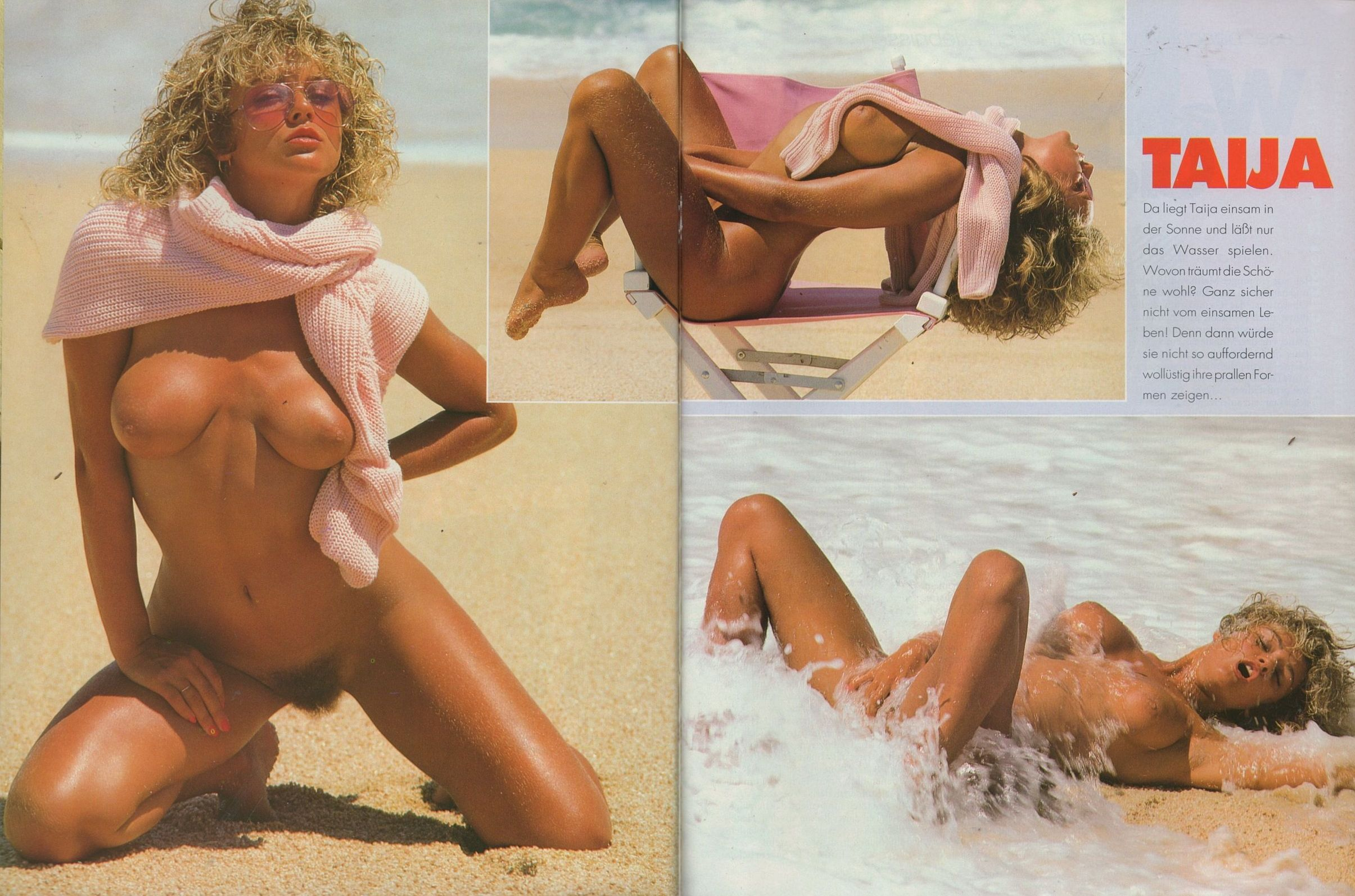 Magazine nude model gail are not