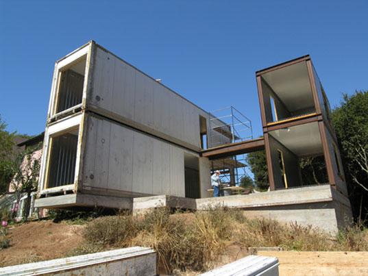 Fabulous Ein Haus aus Überseecontainern GV59