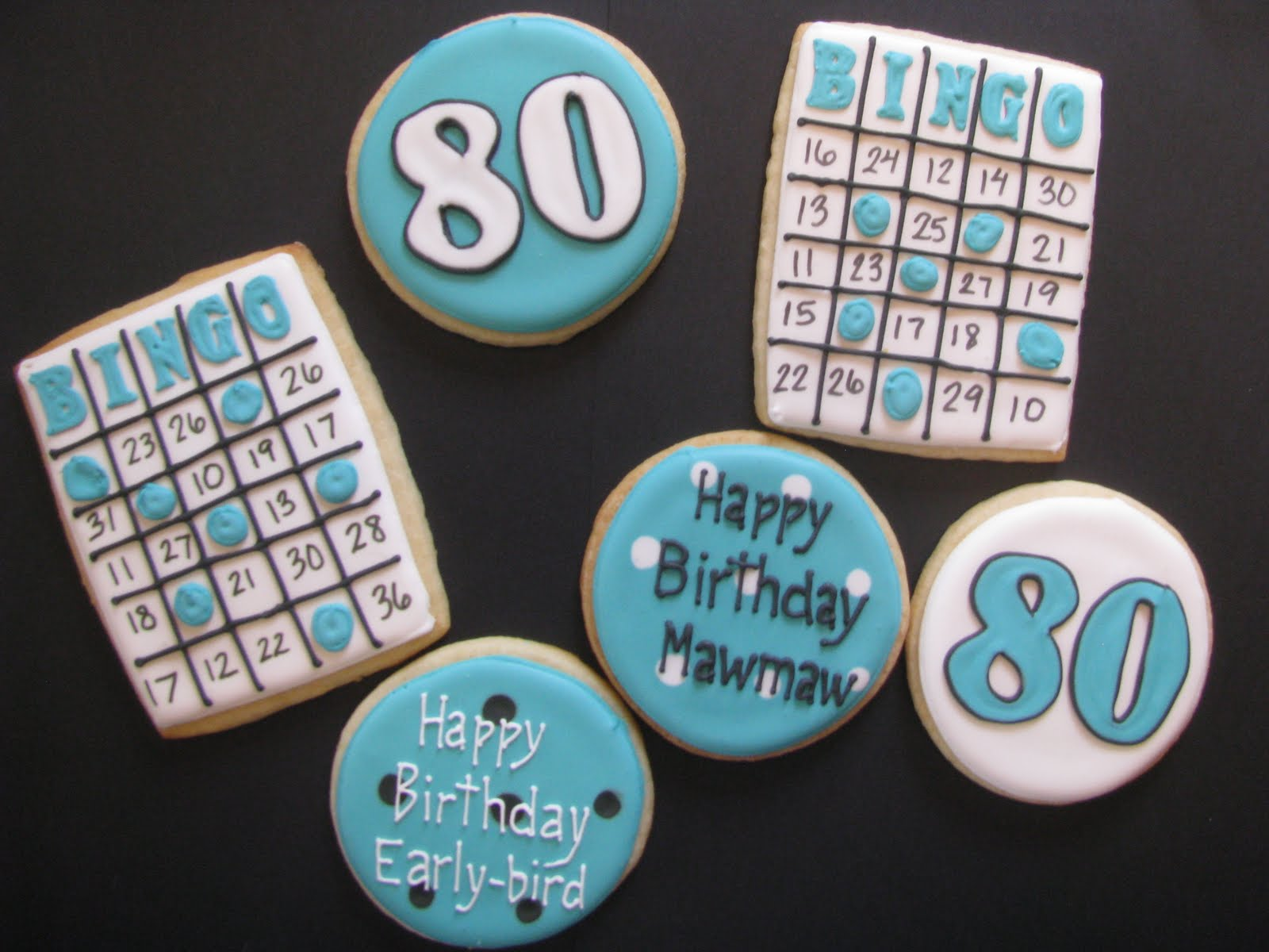 All About The Cookies Bingo