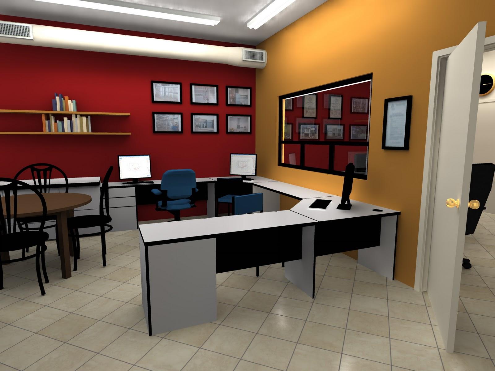 Proyecto lambda remodelacion oficina for Decoracion de interiores para oficinas