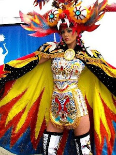 Miss Peru Blog  A Ritmo de Diablada viajo Miss Perú Universo 63d80278aeeb