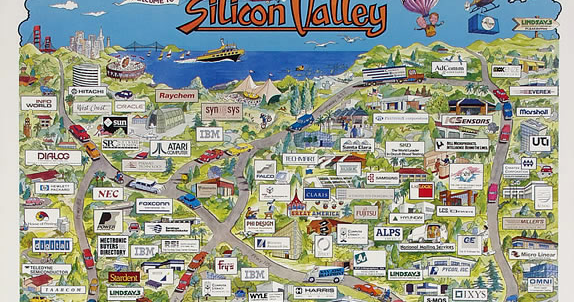 The San Jose Blog: Silicon Valley Maps Silicon Valley Map on san diego map, silicon hills map, napa county map, palo alto map, los angeles map, san jose map, san francisco map, bay area map, silicon beach map, east valley zip code map, san ramon valley map, santa barbara map, valley of mexico map, east bay map, silicon forest map, alameda county map, sacramento map, santa clara map, mountain view map, blossom valley map,