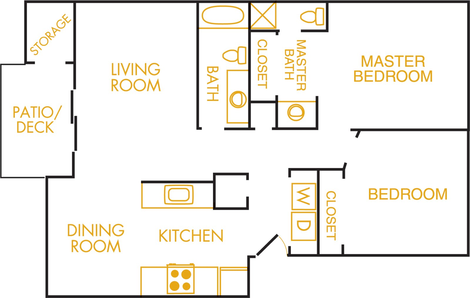 amber park apartments: click on the floorplan for a better view!