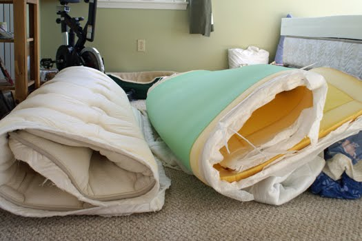 Do With Our Mattress Lately As It Is No Longer Comfortable But Only 7 Years Old We Finally Decided To Surgery Removed The Pillow Top From