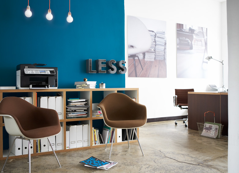 studio uwe gaertner blog projekt neue farbe im b ro. Black Bedroom Furniture Sets. Home Design Ideas