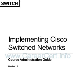Testking Ccnp Switch 642 813 Pdf