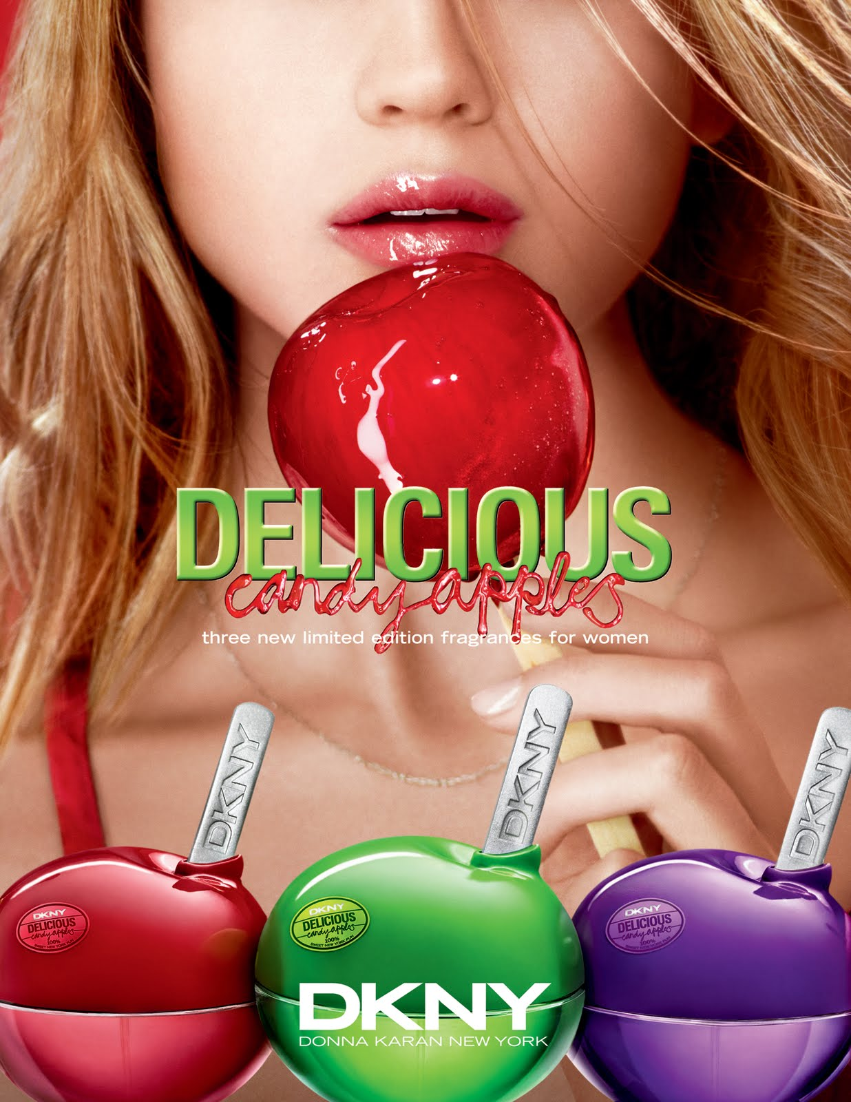 The Uncurated Life: DKNY Delicious Candy Apples