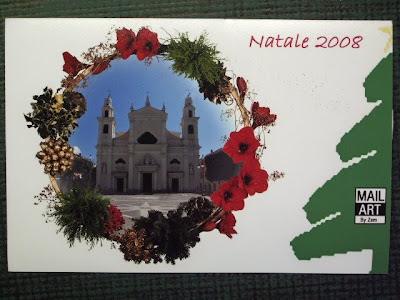 Natale 2008.Arriving And Outgoing Mail Art Arriving Mail Art Natale