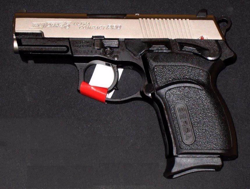 Pistola bersa thunder calibre 45 acp armas de fuego - Pistola para lacar ...