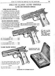 La firma LLAMA Gabilondo y Cia  Armas de Fuego