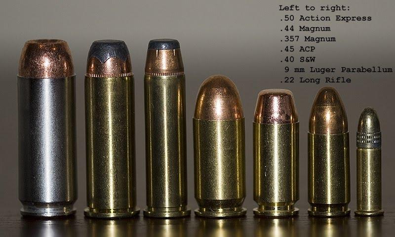 calibres para arma corta m u00e1s usados actualmente