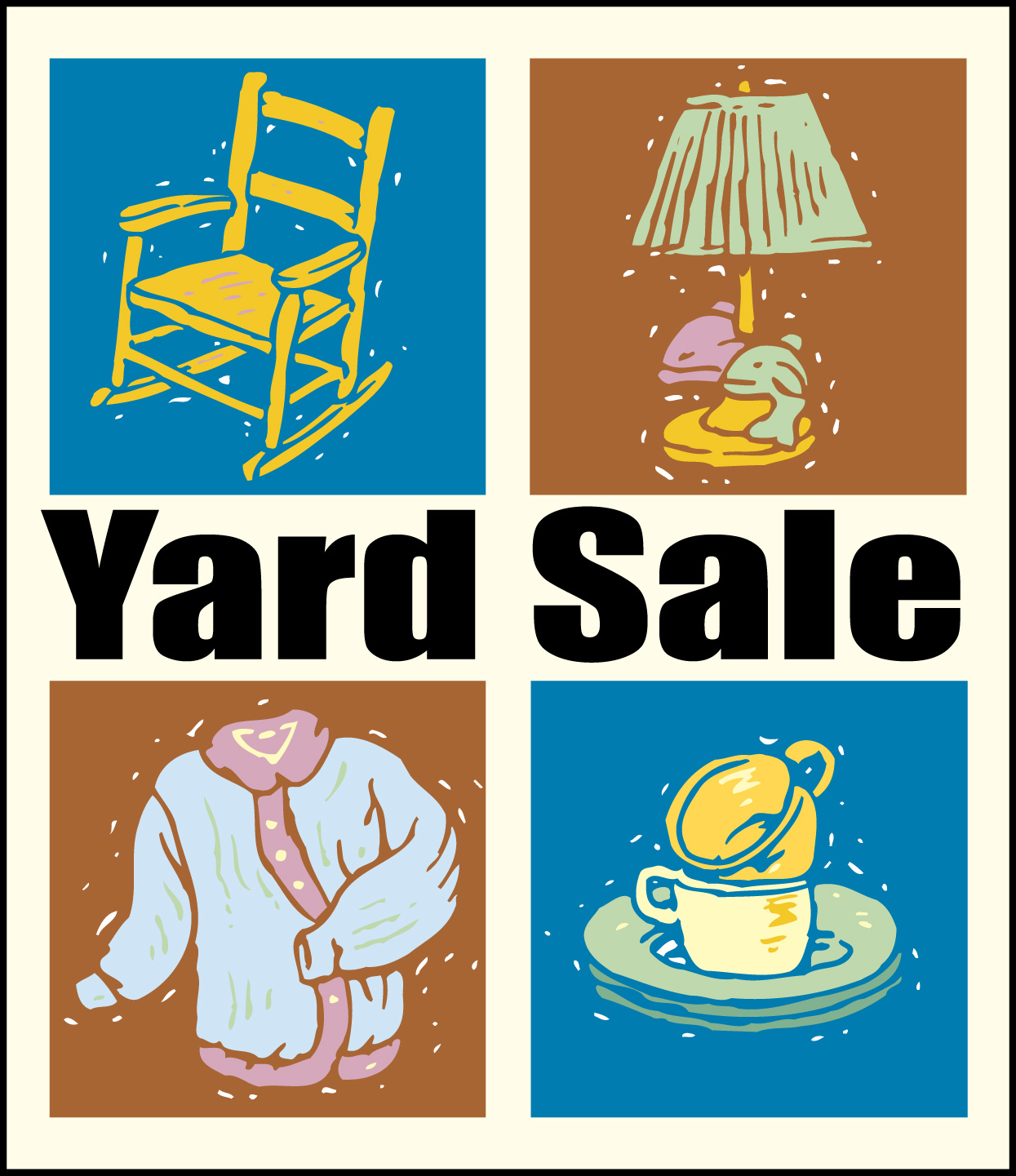 Church Rummage Sales This Weekend: St. Ansgar Lutheran Church: Yard Sale This Saturday 6/11