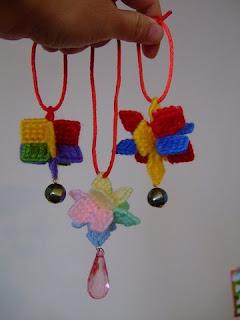 cheerfulsky's craft: plastic canvas