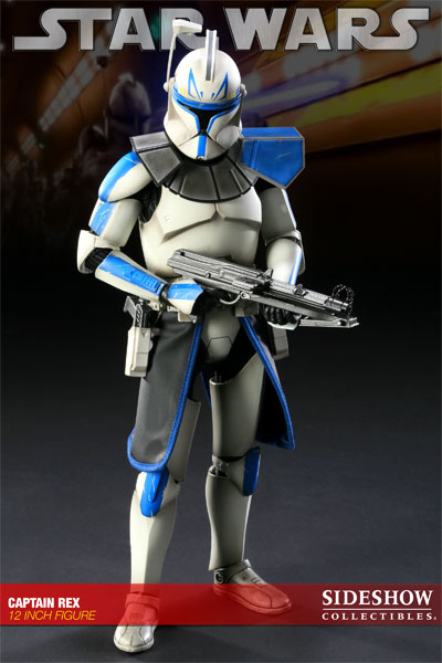 toyhaven Sideshow Star Wars Clone Captain Rex PreOrder