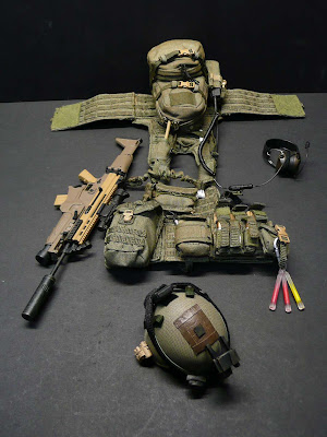 toyhaven: US ARMY RANGER 75th REGIMENT with SCAR-L