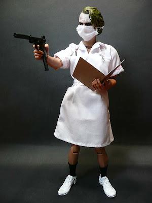 ArtStation - The Dark Knight - Nurse Joker custom figure