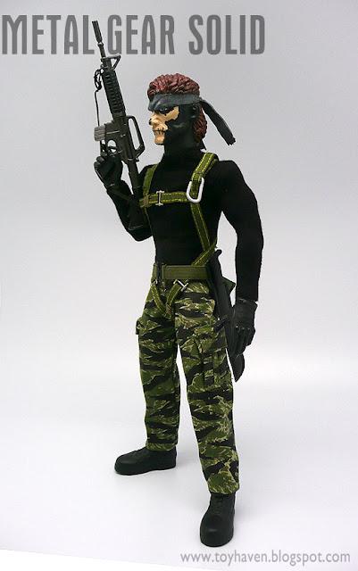 Amazon.com: Medicom Metal Gear Solid Naked Snake - Tiger