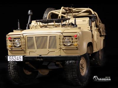toyhaven: Pre-order 1:6 Land Rover WMIK