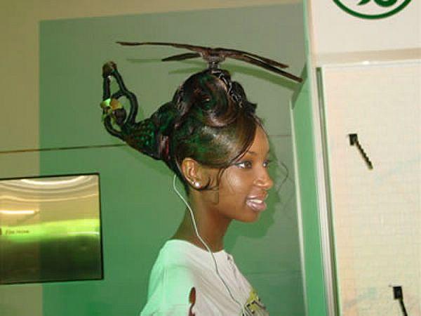 Ghetto Hair Styles: Ayis Dudu Ais: Fun Prom Hairstyles