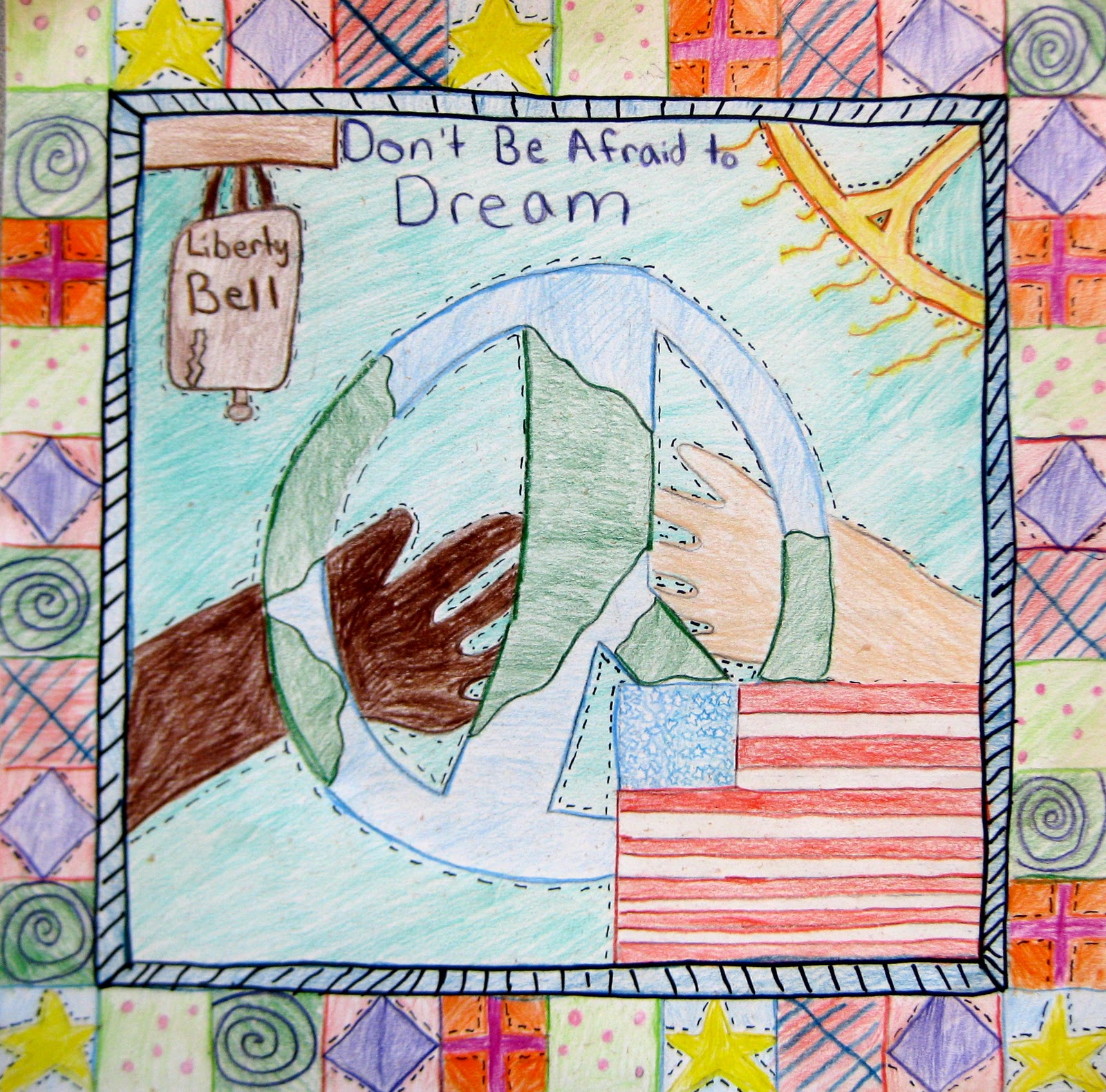 Experiments In Art Education Martin Luther King Jr Quilt