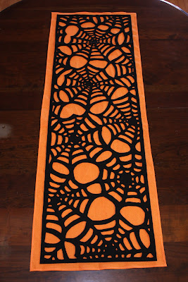 Spiderweb Table Runner