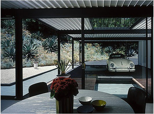 The North Elevation Classic Spaces Pierre Koenig Case