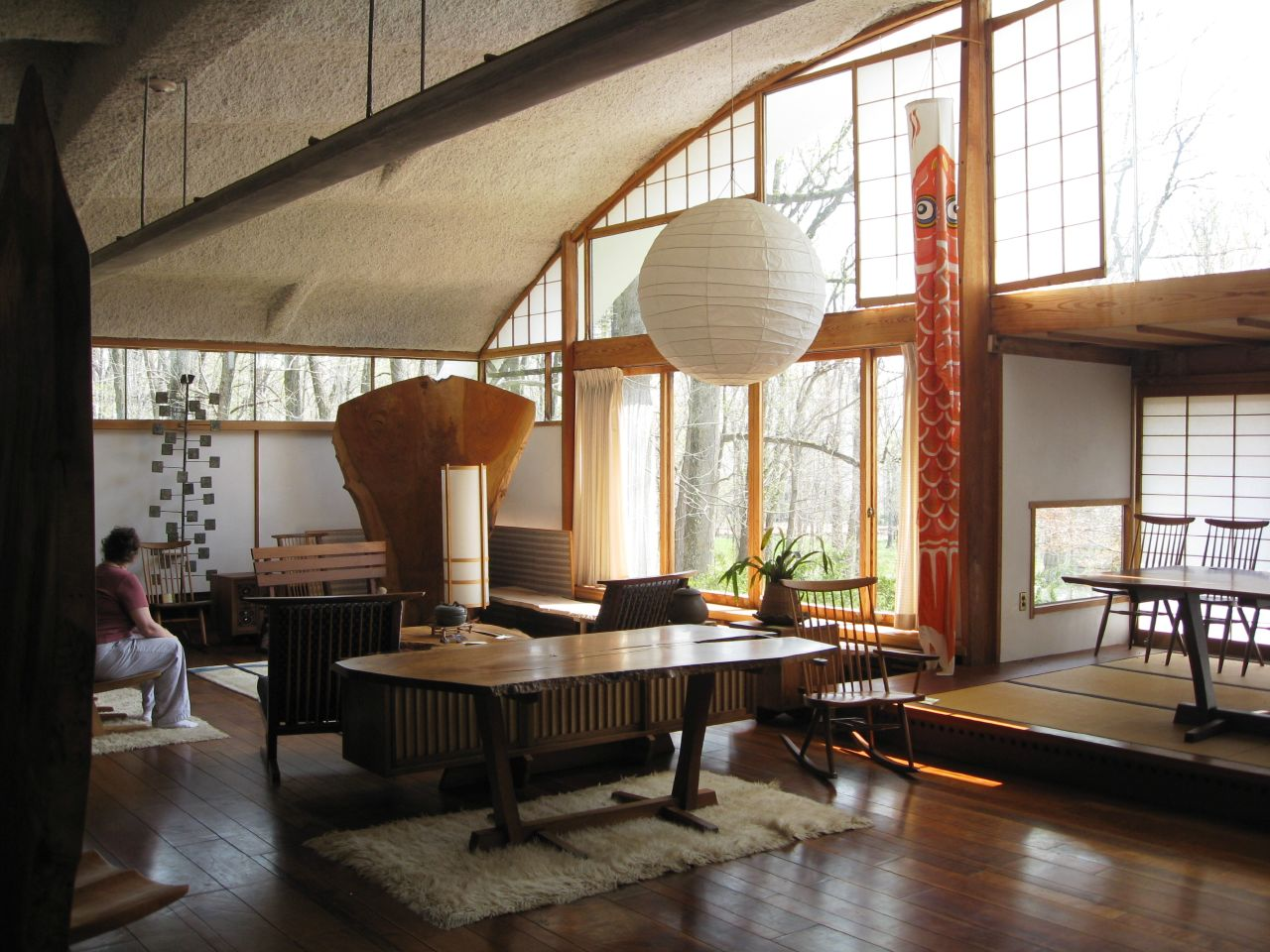 The North Elevation Classic Spaces George Nakashima